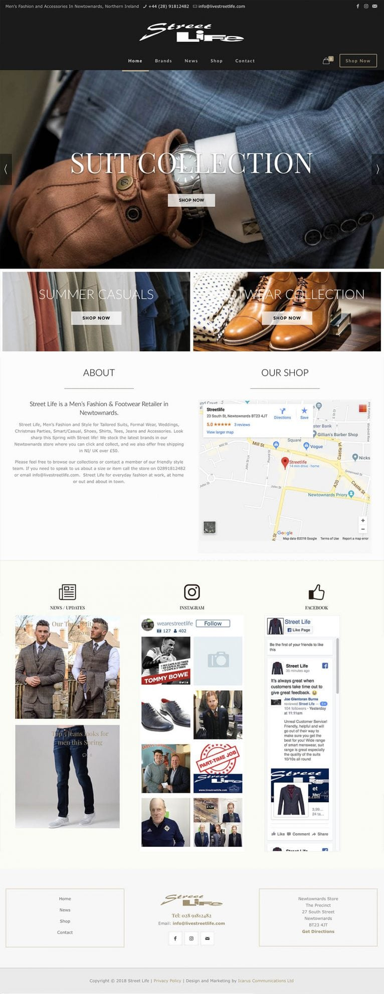 Street Life Homepage